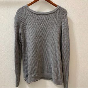 Old Navy Gray Knit Sweater